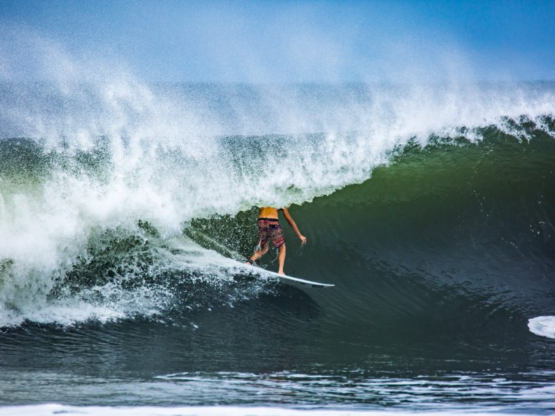 surfing the boom, northern nicaragua